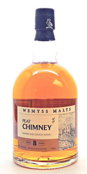 Wemyss Peat Chimney 8 years Blended Scotch