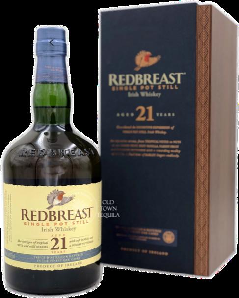 REDBREAST 21 years Irish Whiskey
