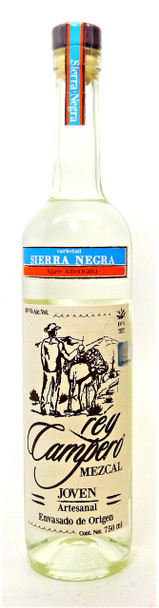 Rey Campero Sierra Negra Mezcal Joven