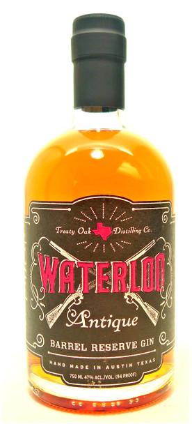 Waterloo Antique Barrel Rerserve Gin