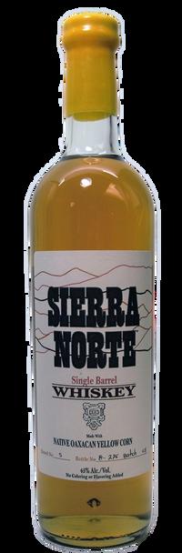 Sierra Norte Native Oaxacan Yellow Corn Single Barrell Whiskey