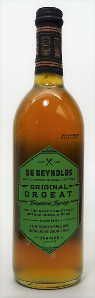 BG Reynolds Original Orgeat Tropical Syrup