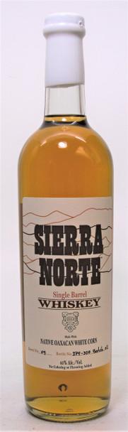 Sierra Norte Native Oaxacan White Corn Single Barrel Whiskey