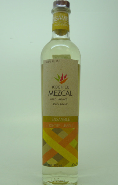 Koch El Mezcal Wild Agave 100% Agave Ensamble Coyote-Jabali