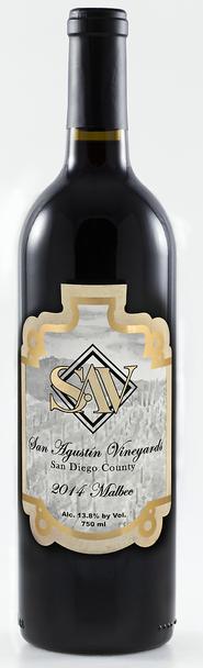 San Agustin Malbec wine