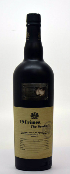 19 crimes THE WARDEN — RED BLEND