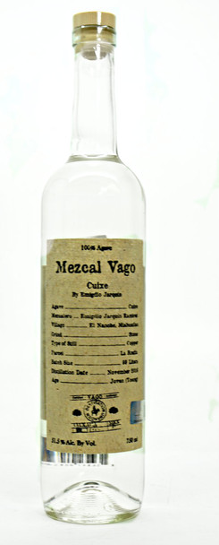 MEZCAL VAGO CUIXE BY EMIGRIIO JARQUIN
