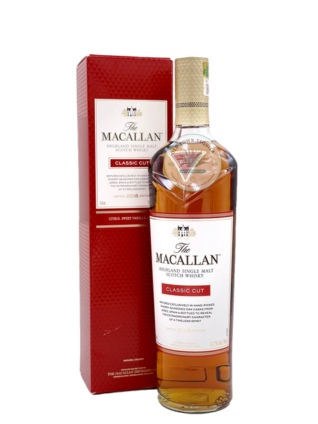 The Macallan Classic Cut Limited 2018 Edition Highland Single Malt Scotch Whisky