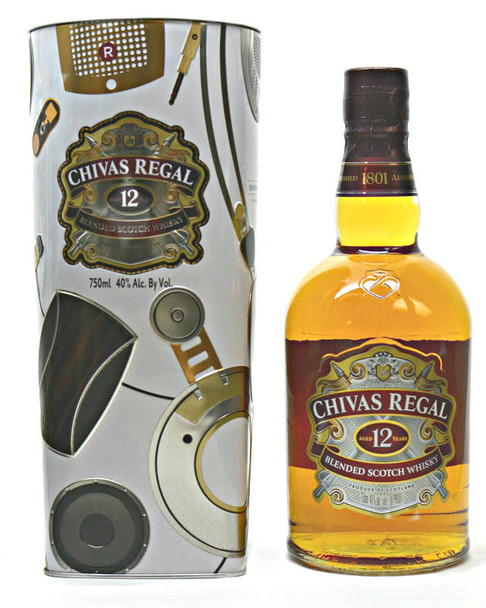 CHIVAS REGAL 12 yr Blended Scotch Whisky Limited Edition Generosity: Amplified