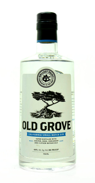 Old Grove California small batch Gin