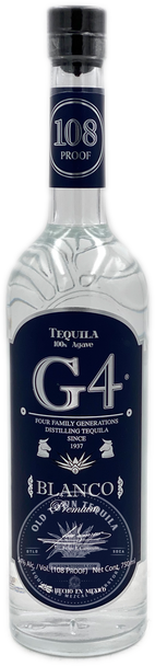 G4 108 High proof  Blanco Tequila