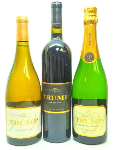 Trump Wine Tasting Set 3 bottles