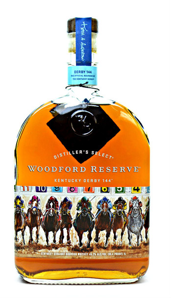 WOODFORD RESERVE BOURBON WHISKEY KENTUCKY DERBY 144