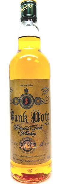 Bank Note Blended Irish whiskey 750ml