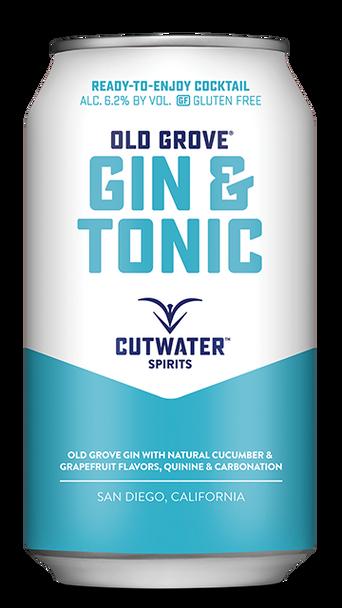 Cutwater Old Grove Gin & Tonic