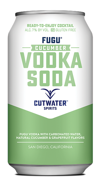 Cutwater Fugu Cucumber Vodka Soda