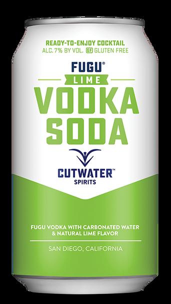 Cutwater Fugu Lime Vodka Soda