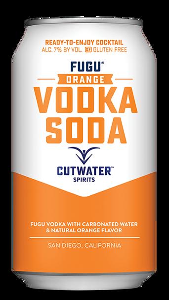 Cutwater Fugu Orange Vodka Soda