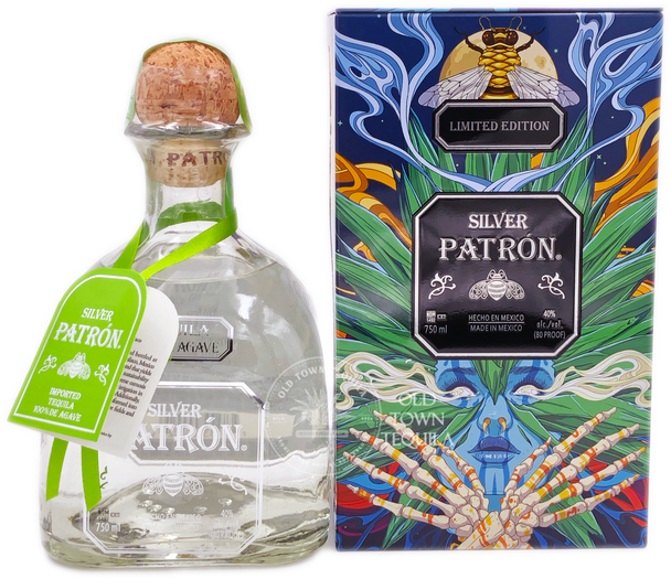 Patron Silver Limited Edition Mexican Heritage Tin 2020