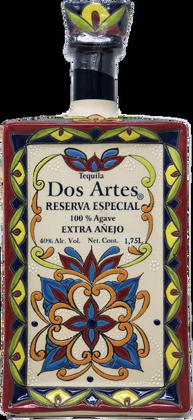 Dos Artes Reserva Especial 1.75 L Extra Anejo Tequila front view