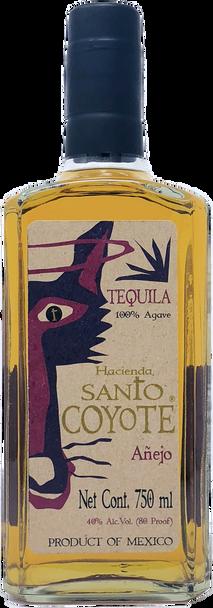 Santo Coyote Anejo Tequila