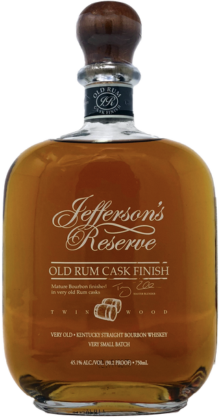 Jefferson's Reserve Old Rum Cask Finish Bourbon