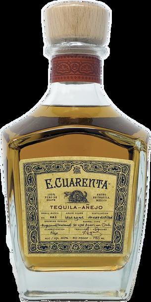 E.Cuarenta Tequila Anejo