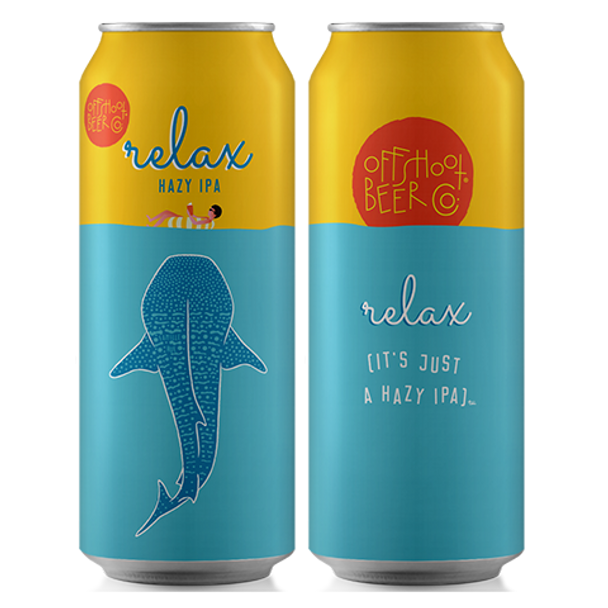 Offshoot Beer Relax its Just A Hazy Day Ipa 4pk