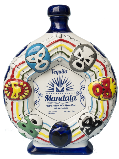 Tequila Mandala Lucha Libre Limited Edition Extra Añejo