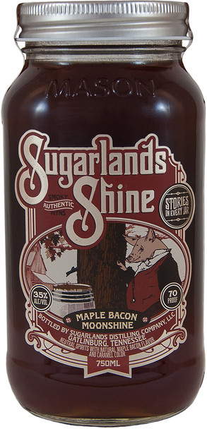 Sugarlands Shine Maple bacon Moonshine