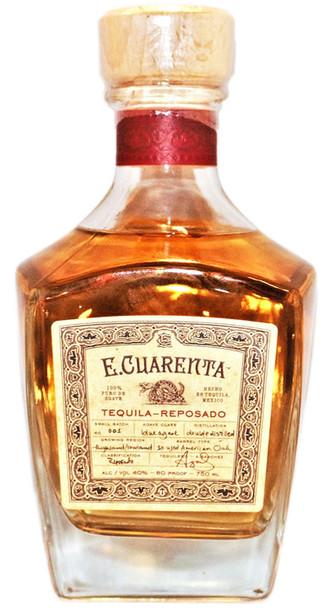 E.Cuarenta Tequila Reposado