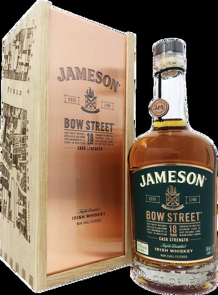 Jameson Bow Street 18 Years Irish Whiskey