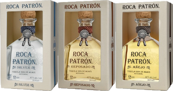 Roca Patron 375ml Full Expression Combo