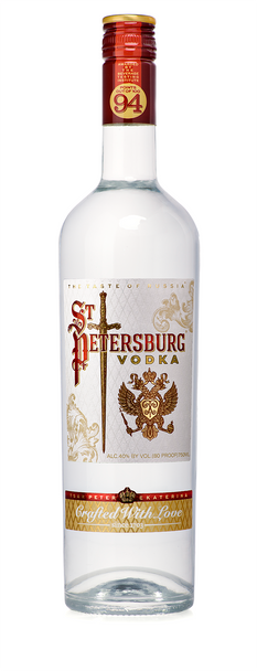 St Petersburg Russian Organic Vodka