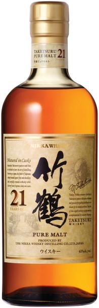 Nikka Taketsuru Pure Malt 21 Year Old Japanese Whisky