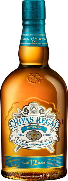 Chivas Regal Scotch Whisky 12 Year Old Mizunara Edition
