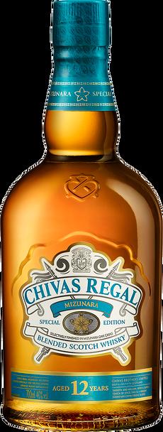 Chivas Regal Scotch Whisky 12 Year Old Mizunara Edition