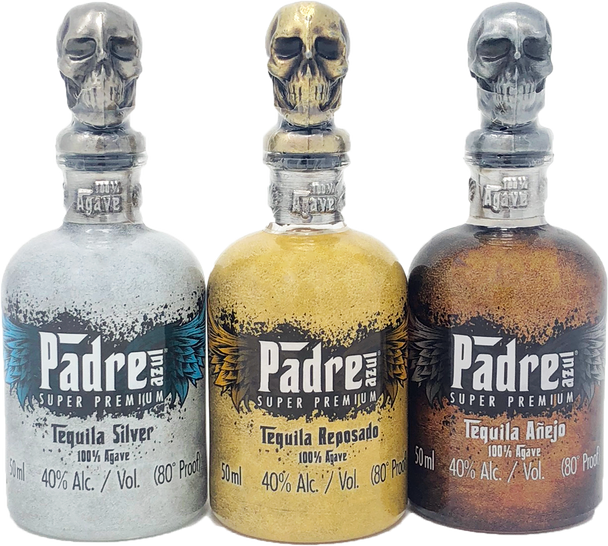 Padre Azul Tequila Mini Bottle Set