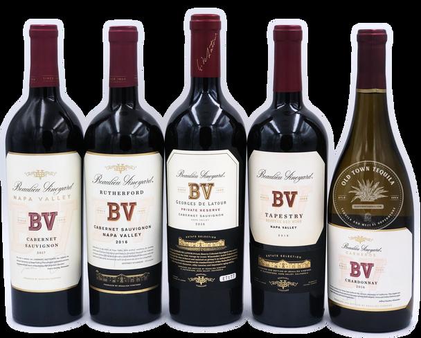 Beaulieu Vineyard 5x750ml Wine Set