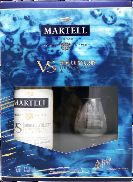 Martell VS Single Distillery Cognac Gift Set