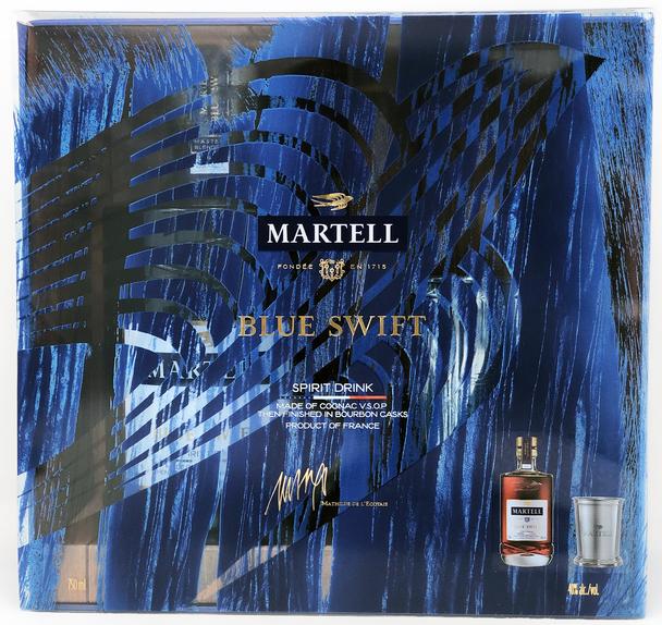 Martell Blue Swift Cognac Gift Set