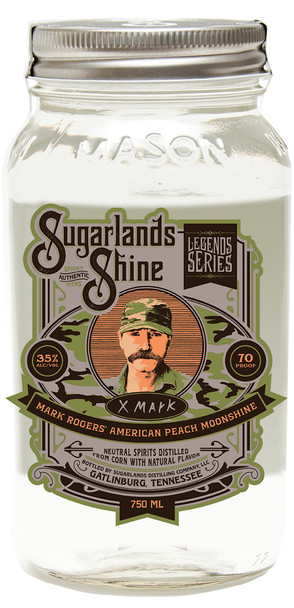 Sugarlands Shine Mark Roger's American Peach