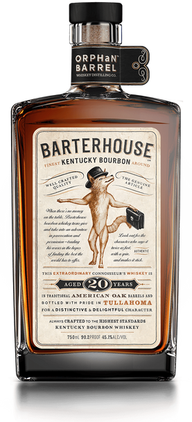 Orphan Barrel Barterhouse 20 Years Aged Kentucky Bourboun Whiskey