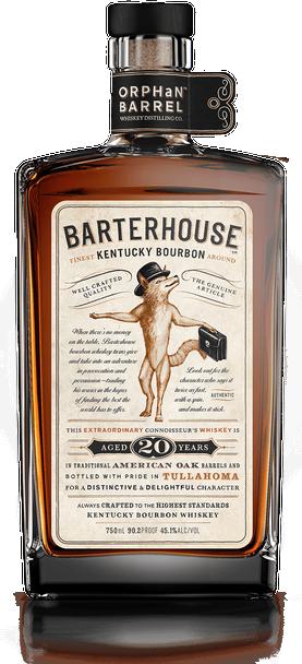 Orphan Barrel Barterhouse 20 Years Aged Kentucky Bourboun Whiskey