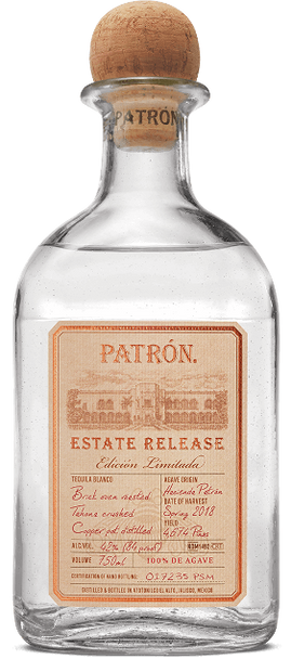 Patron Estate Release Limited Edition Silver Tequila