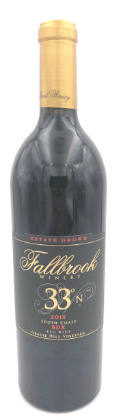 Fallbrook 33 N Bdx Estate Red Wine