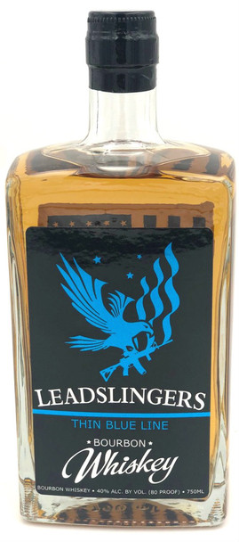 Leadslingers Thin Blue Line Bourbon Whiskey