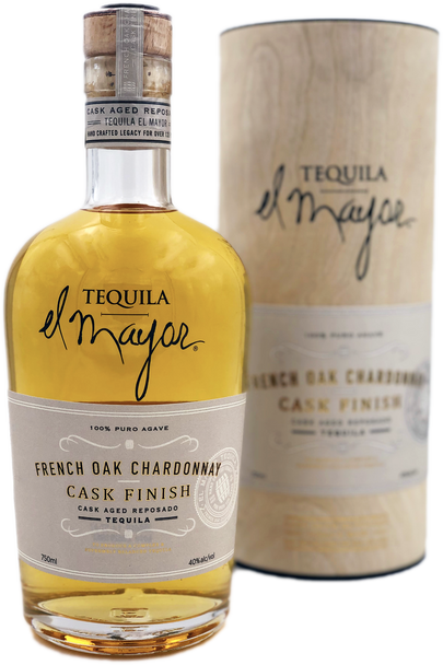 El Mayor French Oak Chardonnay Cask Reposado Tequila