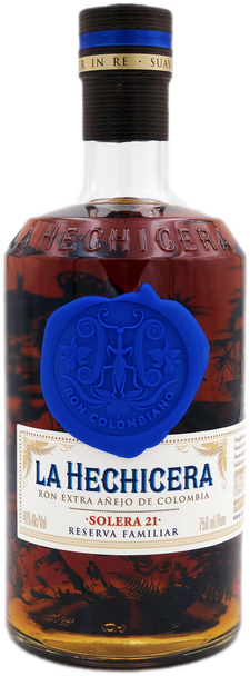 La Hechicera Solera 21 Extra Anejo Rum