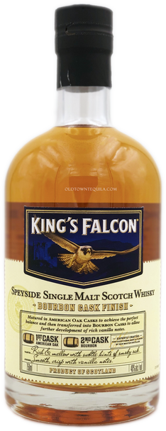 King's Falcon Bourbon Cask Speyside Single Malt Scotch Whisky